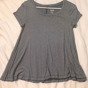 A target babydoll striped tee